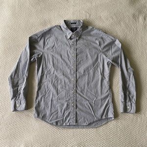 Abercrombie & Fitch Super Slim Striped Button Up